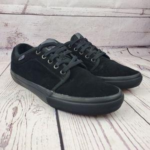 Van's Pro Skate Chukka Low Black Suede Sneakers